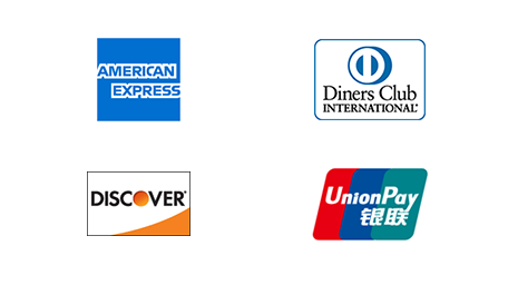 AMEX/Diners/DISCOVER /銀聯